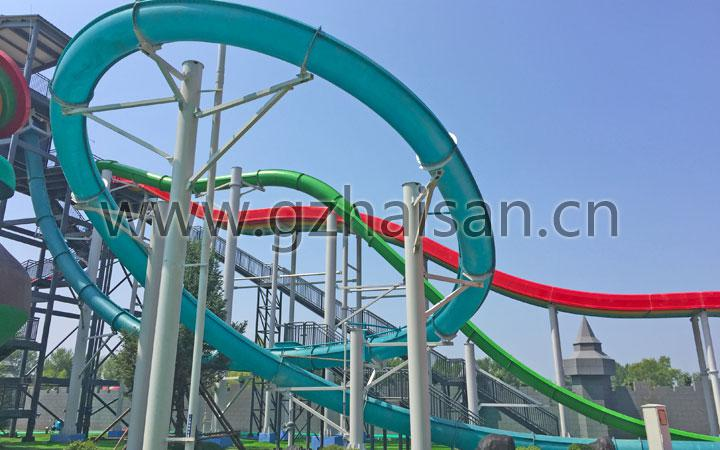 18.5meters high Magic Loop Slide
